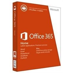 Office365 Home 32/64 Hebrew Subscr 1YR Medialess