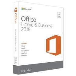 Office Mac Home & Business 2016 English Medialess